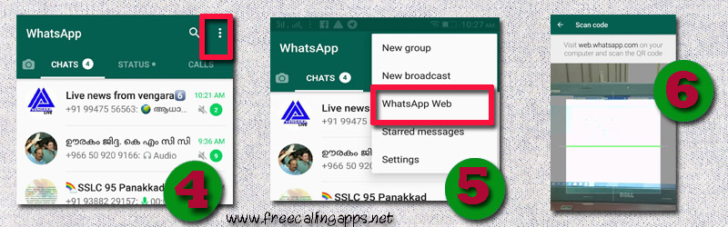 how to use whatsapp on computer